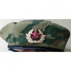 USSR Military Camouflage Beret Cap / 소련군 베레모 (사이즈 : 59)