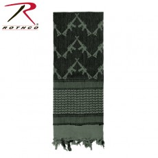 [Rothco] Crossed Rifles Shemagh Tactical Scarf / 8737 / 로스코 크로스 라이플 쉬마그 택티컬 스카프