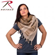 [Rothco] Camo Shemagh Tactical Desert Scarf / 로스코 카모 쉬마그 택티컬 데저트 스카프