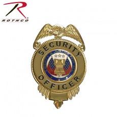 [Rothco] Security Officer Badge w/ Flags / 로스코 시큐리티 오피서 배지