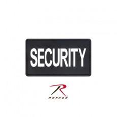 [Rothco] PVC Security Patch w/ Hook Back / 로스코 PVC 시큐리티 벨크로 패치