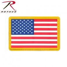 [Rothco] PVC US Flag Patch / [로스코] PVC 성조기 패치(벨크로 버젼)