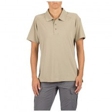 [5.11 Tactical] Women's Helios Short Sleeve Polo / 61305 / [5.11 택티컬] 헬리오스 반팔 폴로 (Silver Tan - S)