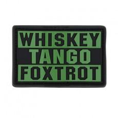 [Condor] Whiskey Foxtrot PVC Patch / 181007 / [콘돌] 위스키 폭스트롯 PVC 패치