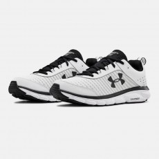 [Under Armour] UA Charged Assert 8 / 3021952-102 / [언더아머] UA 차지드 어썰트 8 어서트 (White / White)
