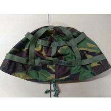 영국군 MK6 헬멧 커버 (Woodland DPM) (중고 - 상태 B급)