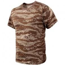 [Rothco] Tiger Stripe Camo T-Shirts / [로스코] 타이거 스트라이프 카모 티셔츠