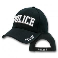 [Rapid Dominance] Embroidered Law Enforcement Caps (U.S. Police - Black) / JW