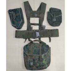 German Camo Harness Set / 독일군 카모 하네스 셋 (사용품 - 상태 C급) (국내배송)