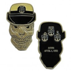 [Vanguard] Coin: United States Navy Female Master Chief Petty Officer Skull
