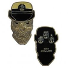 [Vanguard] Coin: United States Navy Female Senior Chief Petty Officer Skull