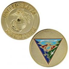 [Vanguard] Marine Corps Coin: 1 3/4 Inch MCAS Miramar