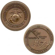 [Vanguard] Marine Corps Coin: Honor Courage Commitment