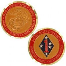 [Vanguard] Marine Corps Coin: First Marine Division