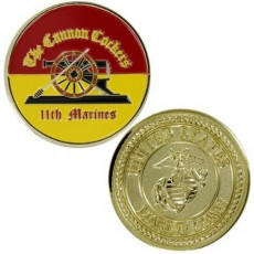 [Vanguard] Marine Corps Coin: 11th Marines Cannon Cockers
