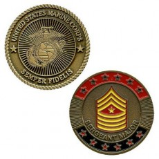 [Vanguard] Marine Corps Coin: Sergeant Major