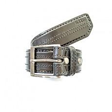 [5.11 Tactical] 1.5 Inch Stitched Leather Belt / 59502 / [5.11 택티컬] 1.5인치 스티치드 가죽 벨트 (Black - S)