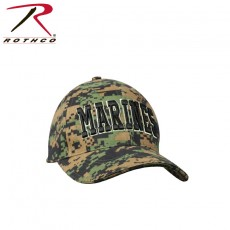 [Rothco] Deluxe Marines Low Profile Insignia Cap / [로스코] | 미해병대 볼캡
