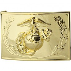 [Vanguard] Marine Corps Dress Buckle - anodized with emblem and wreath