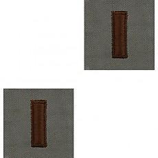 [Vanguard] Air Force Embroidered Rank: Second Lieutenant - ABU / 미공군 소위 계급장(ABU용)