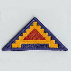 US Army Patch: Seventh Army - color / 미육군 제7군 패치