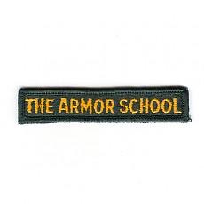 Army Tab : The Armor School / 미육군 기계화학교 탭