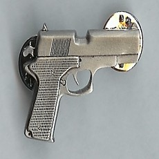 Full-Size Pewter Pin - AUTO