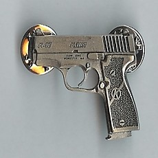 Full-Size Pewter Pin - Kahr (색상 : Silver)