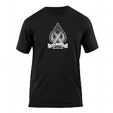 [5.11 Tactical] S/S LOGO T - Spade / 41006AX / [5.11 택티컬] 프린트 티셔츠 (Black - S) (국내배송)