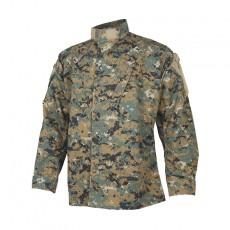 [Tru-Spec] Tactical Response Uniform (TRU) Shirt (Woodland Digital) / [트루스펙] 택티컬 리스폰스 유니폼 셔츠 (우드랜드 디지털)