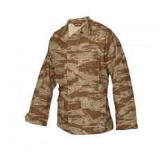 [Tru-Spec] BDU COAT (Original Desert Tiger Stripe) / 1596 / [트루스펙] BDU 전투복 상의