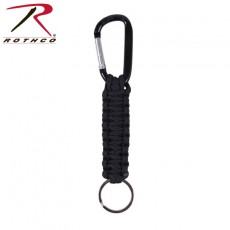 [Rothco] Paracord Keychain with Carabiner / 로스코 파라코드 열쇠고리 + 카라비너