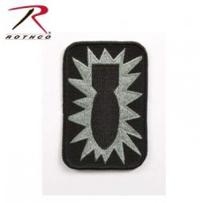 Rothco Bomb Patch - 52nd Ordnance Group