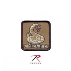 Rothco Dont Tread On Me Patch - Hook Backing