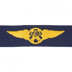 [Vanguard] Coast Guard Embroidered Badge: Rescue Swimmer - Ripstop fabric