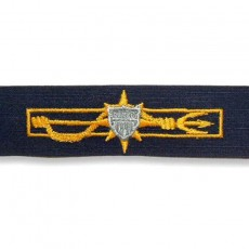 [Vanguard] Coast Guard Embroidered Badge: Marine Safety Inspector - Ripstop fabric