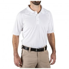 [5.11 Tactical] Performance Short Sleeve Polo / 71049 / [5.11 택티컬] 퍼포먼스 반팔 폴로 (White - Medium)(60% 할인쿠폰)(네이버페이 제외)