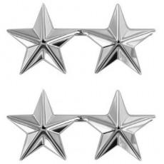 [Vanguard] 2 STARS: NICKEL PLATED 1 Inch