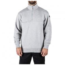 [5.11 Tactical] 1/4 Zip Job Shirt / 72314 / [5.11 택티컬] 쿼터 짚 잡 셔츠 (Heather Grey - XS)(80% 할인쿠폰)(네이버페이 제외)