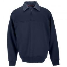 [5.11 Tactical] Job Shirt with Denim Details / 72301 / [5.11 택티컬] 잡 셔츠 - 데님 디테일 (Fire Navy - Large)(80% 할인쿠폰)(네이버페이 제외)