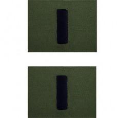 [Vanguard] Navy Embroidered Collar Device: Lieutenant Junior Grade - Subdued
