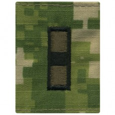 [Vanguard] Navy Parka Tab Device: Woodland Digital Embroidered WO3 Warrant Officer